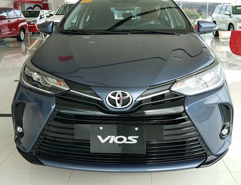 Hình ảnh rõ nhất về đầu xe Toyota Vios 2021