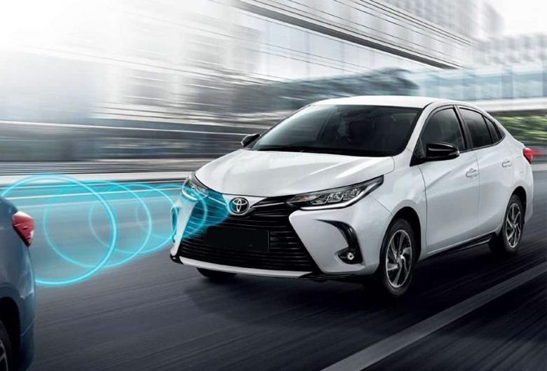 Tính năng an toàn trên Toyota Vios 2021