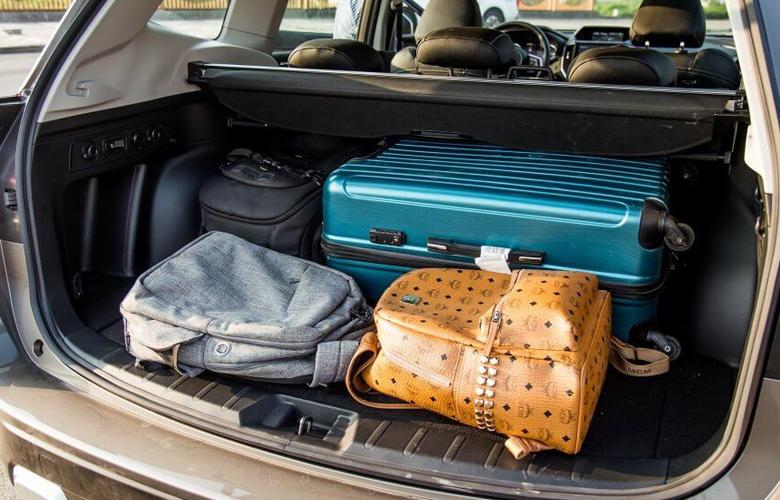 Khoang hành lý Subaru Forester