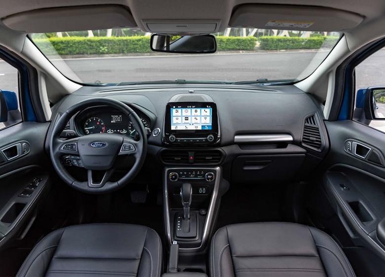 Khoang lái Ford Ecosport 2021