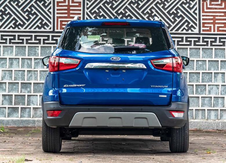 Đuôi xe Ford Ecosport 2021