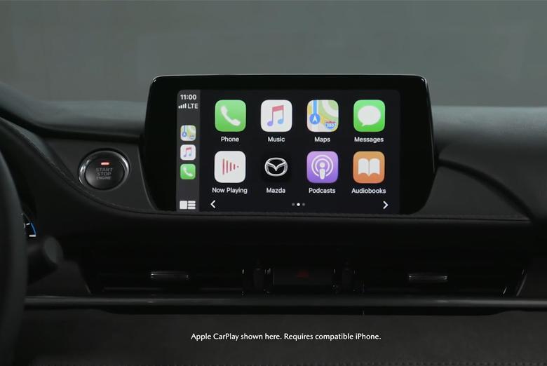 Trang bị tiện ích Mazda 6 2021