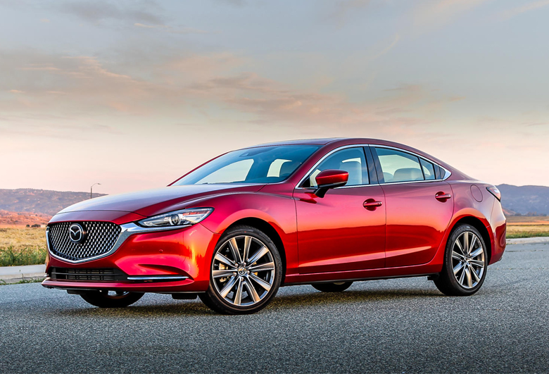 Thân xe Mazda 6 2021