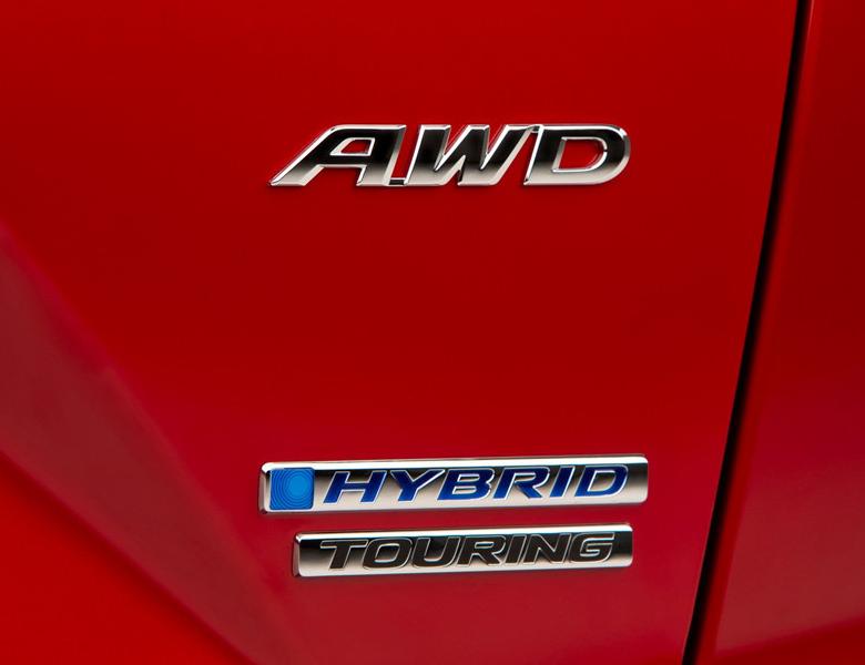 Honda CR-V 2021 bảng Hybrid