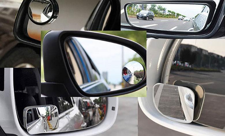 Lưu ý khi sử dụng gương cầu lồi xoá điểm mù trên xe ô tô - 5