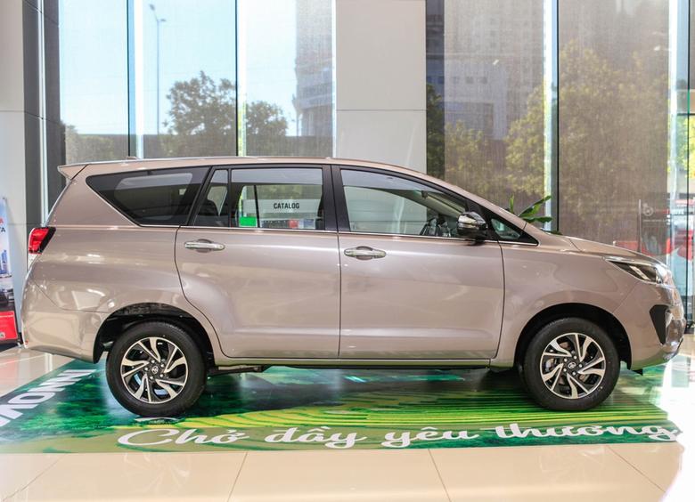 Thiết kế thân xe Toyota Innova 2021