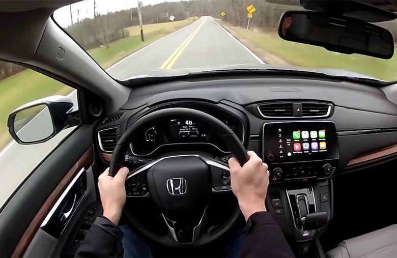 Cảm giác lái Honda CR-V 2021