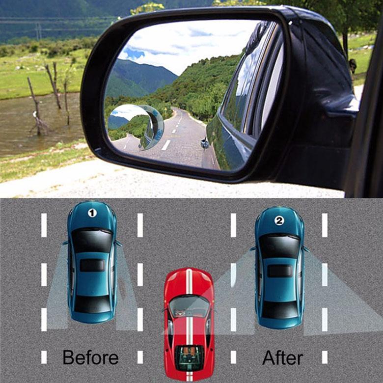 Lưu ý khi sử dụng gương cầu lồi xoá điểm mù trên xe ô tô - 11