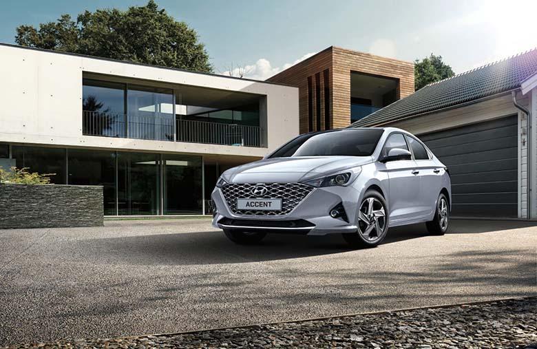 Hyundai Accent thế hệ mới sở hữu bộ tản nhiệt mới thanh lịch hơn