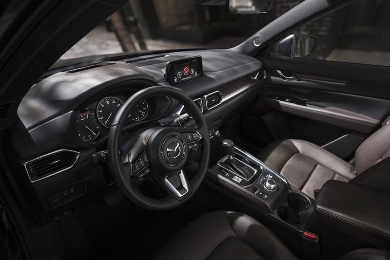 Khoang nội thất thể thao và sang trọng của Mazda CX5
