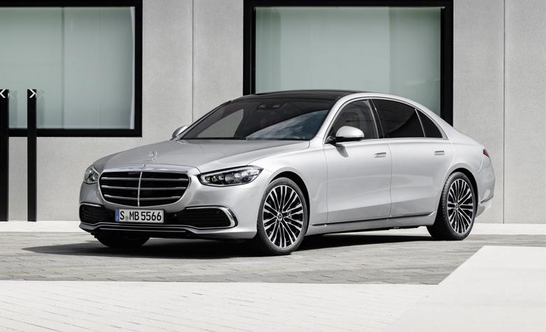 Ngoại hình mới của Mercedes S-Class 2021