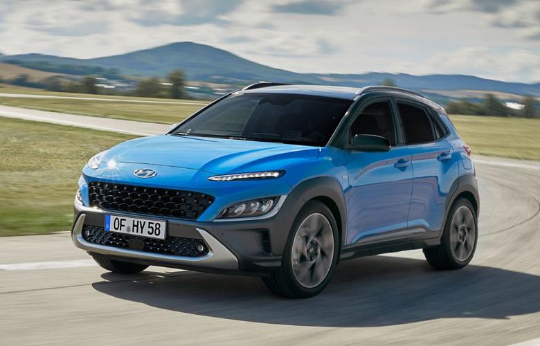 Đầu xe Hyundai Kona 2021 mới đầy thể thao và hầm hố