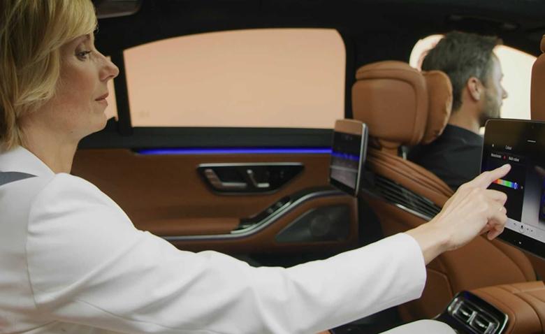 Trang bị tiện ích trên Mecedes-Benz S-Class 2021
