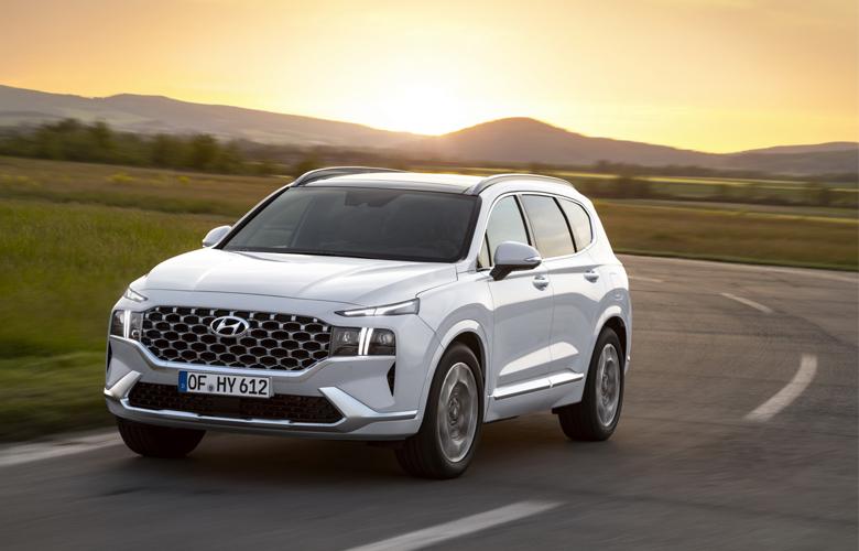 Ưu điểm của Hyundai Santafe 2021 máy xăng