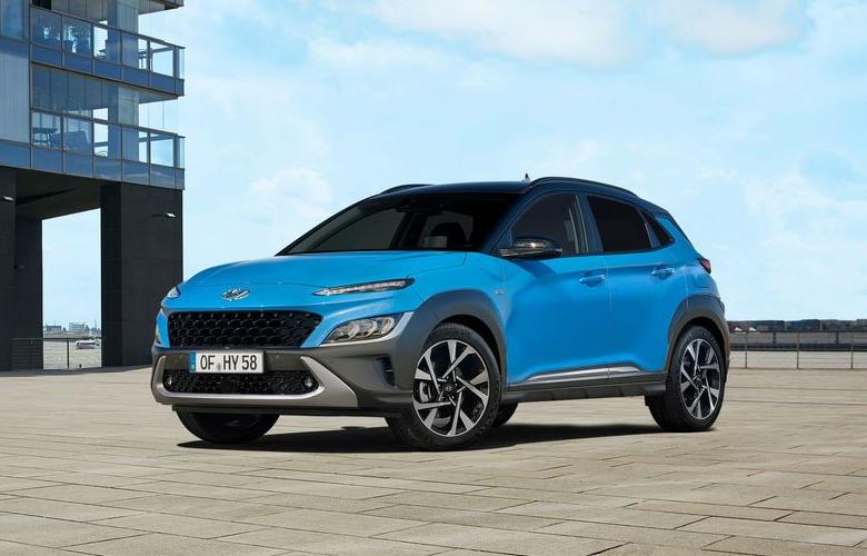 Diện mạo mới của Hyundai Kona 2021