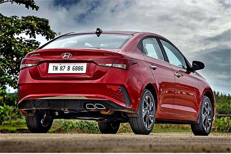 Một phiên bản màu sắc khác của Hyundai Accent 2021