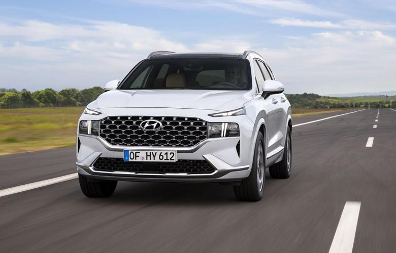 Hyundai Santafe 2021 máy xăng