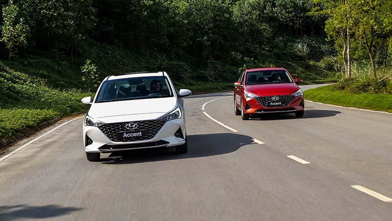Ngoại thất Hyundai Accent mới năng động, linh hoạt hơn