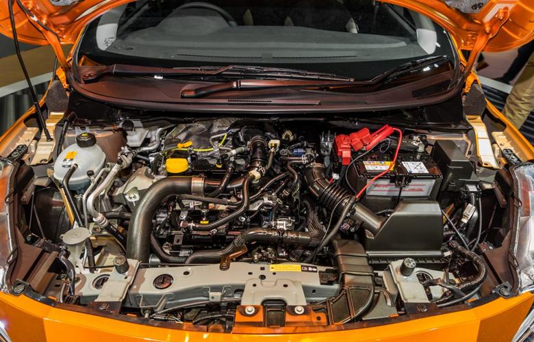Động cơ xăng tăng áp 1.0L 3 xi lanh thẳng hàng, 100 mã lực