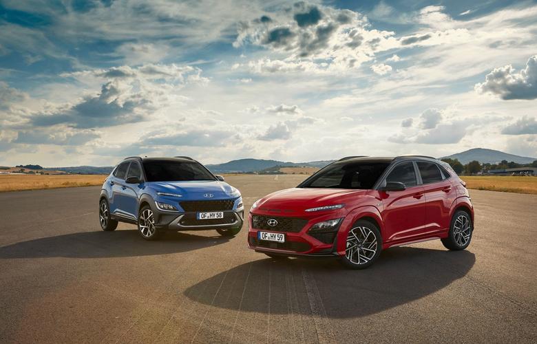 Hyundai Kona 2021 bản tiêu chuẩn và N-Line