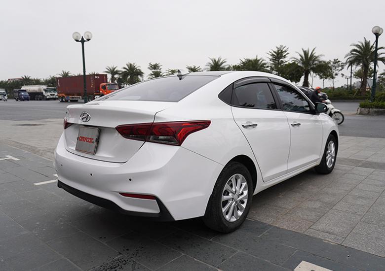 Thiết kế đuôi xe Hyundai Accent được đánh giá rất cao