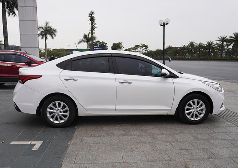 Thiết kế thân xe Hyundai Accent