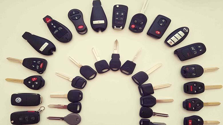 chìa khoá xe ô tô - 1