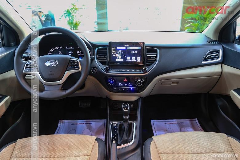 Khoang hành lý Hyundai Accent thế hệ mới