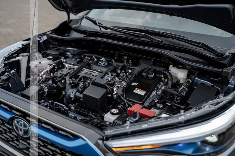 Toyota Corolla Cross được trang bị 2 động cơ tùy chọn