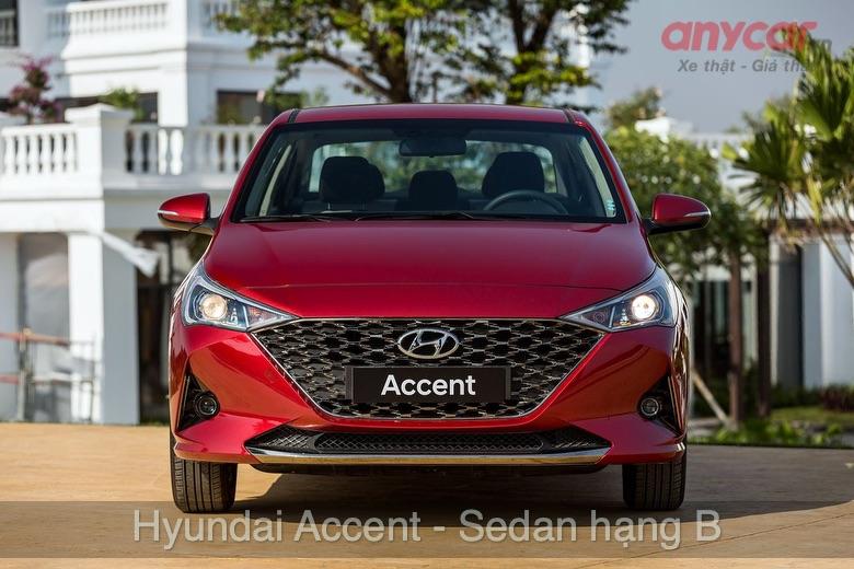 Hyundai Accent: 426 - 542 triệu đồng