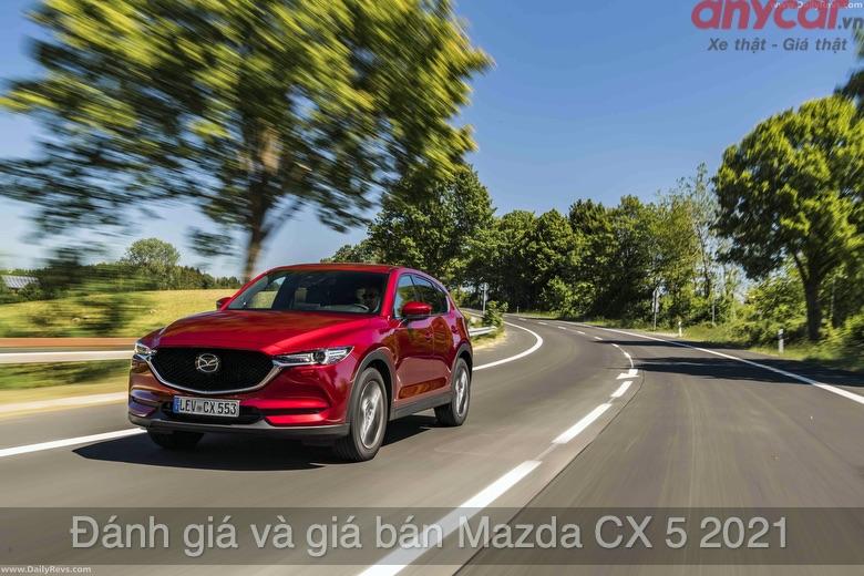Giá bán xe Mazda Cx-5 2021 mới nhất tại Việt Nam