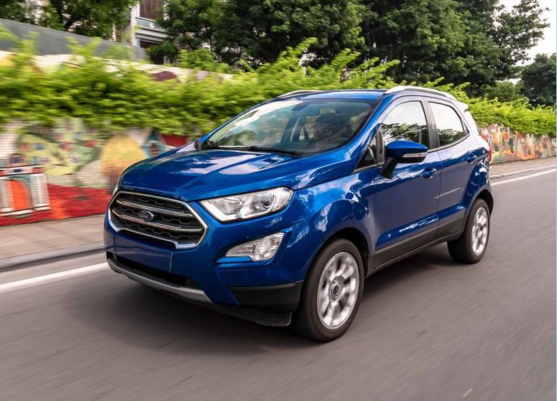 Đánh giá ngoại thất xe Ford Ecosport 2022