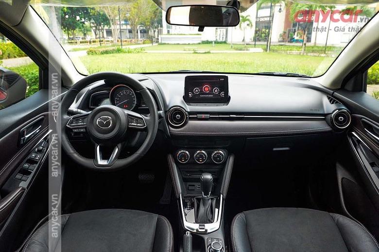 Khoang nội thất của Mazda 2 thế hệ mới