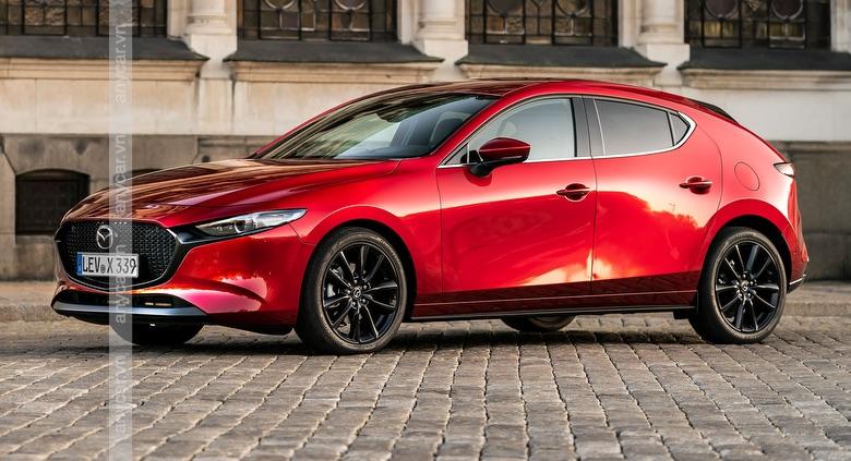Đầu xe Mazda 3 Hatchback hướng đến phong cách thiết kế thể thao