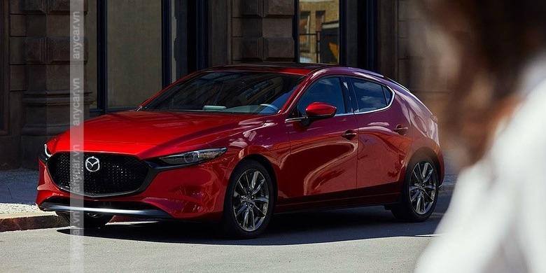 Mazda 3 Hatchback có 4 màu cơ bản