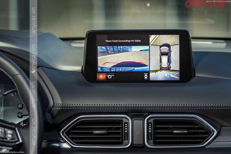 Màn hình cảm ứng 7 inch trên Mazda CX-5