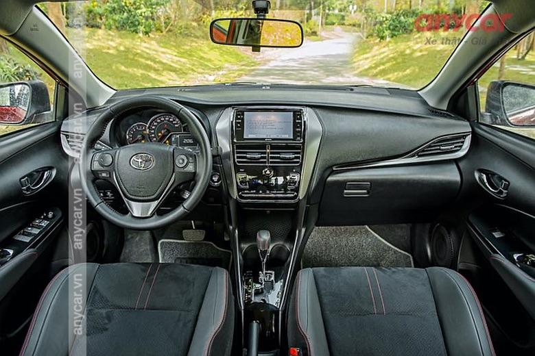 Khoang nội thất của Toyota Vios