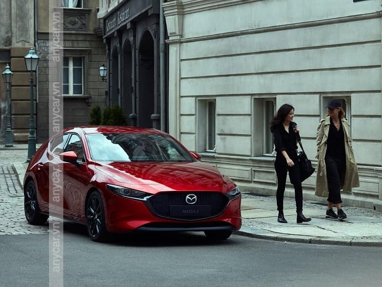 Cảm giác lái Mazda 3 Sedan 2021 rất ổn định