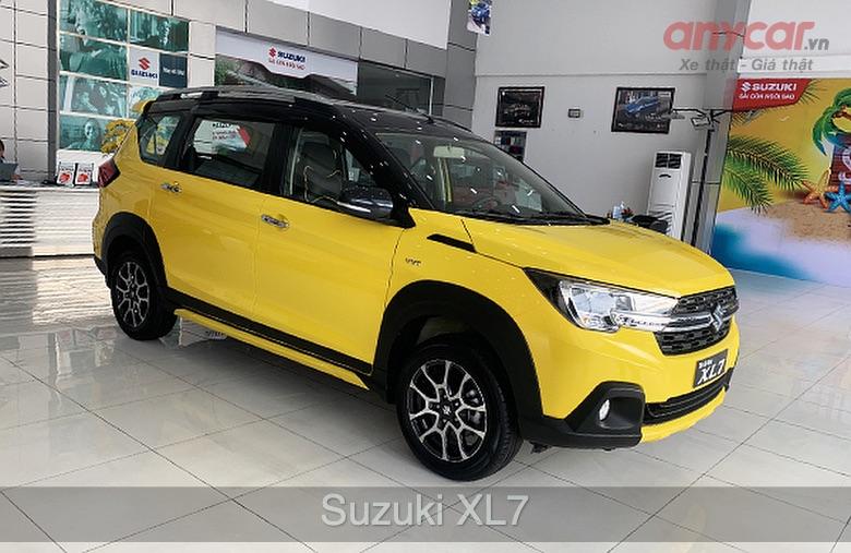 Suzuki XL7: 589 - 599 triệu đồng