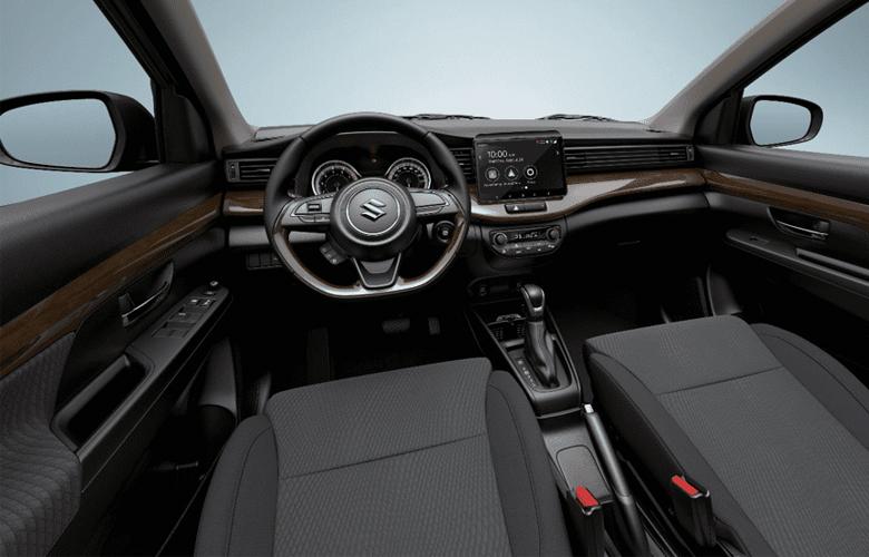 Khoang nội thất của Suzuki Ertiga vô cùng rộng rãi