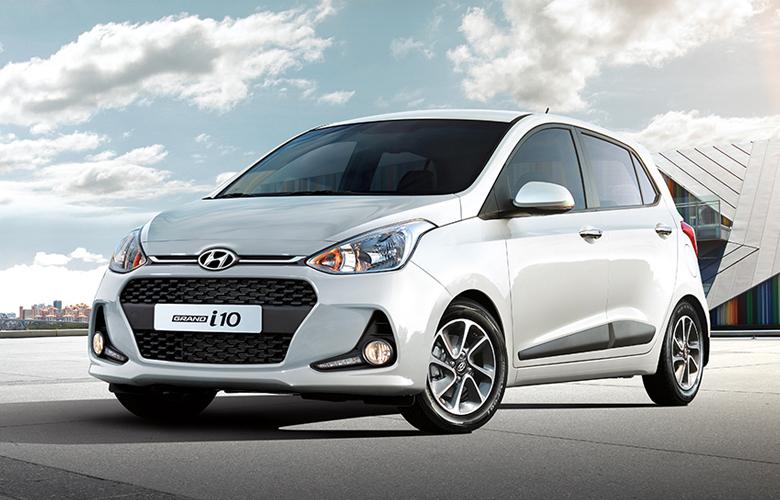 Ngoại thất Hyundai i10 trẻ trung và cá tính