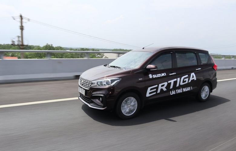 Khả năng vận hành của Suzuki Ertiga khá tốt
