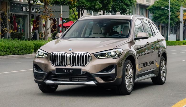 Tổng thể ngoại thất BMW X1