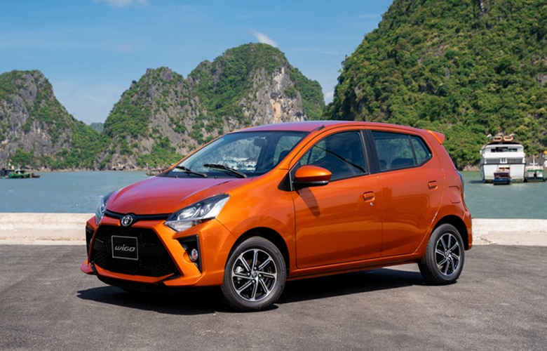 Toyota Wigo xe ô tô giá rẻ chỉ 352 triệu đồng