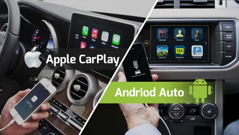 Apple CarPlay và Android Auto là gì?
