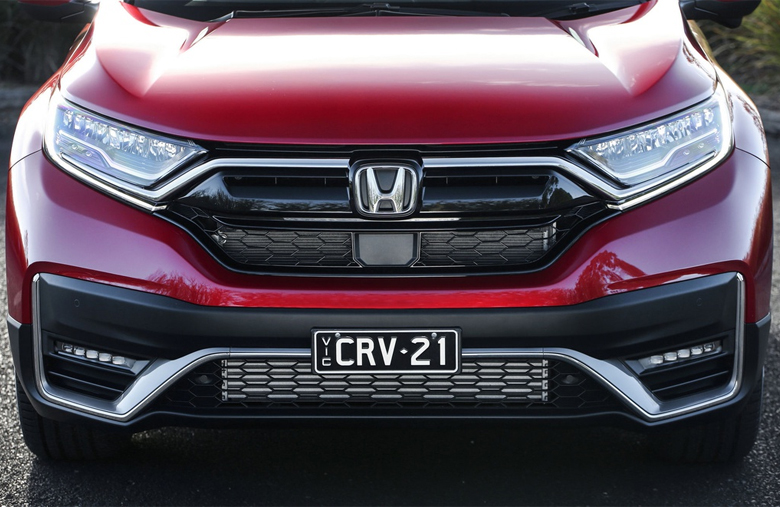 Đầu xe Honda CR-V 2021