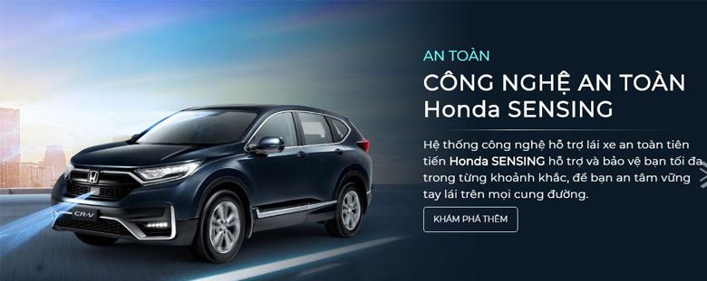 Hệ thống an toàn là thế mạnh của Honda