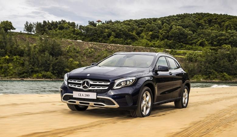 Mercedes-Benz GLA 200, SUV 5 chỗ sang trọng và thể thao