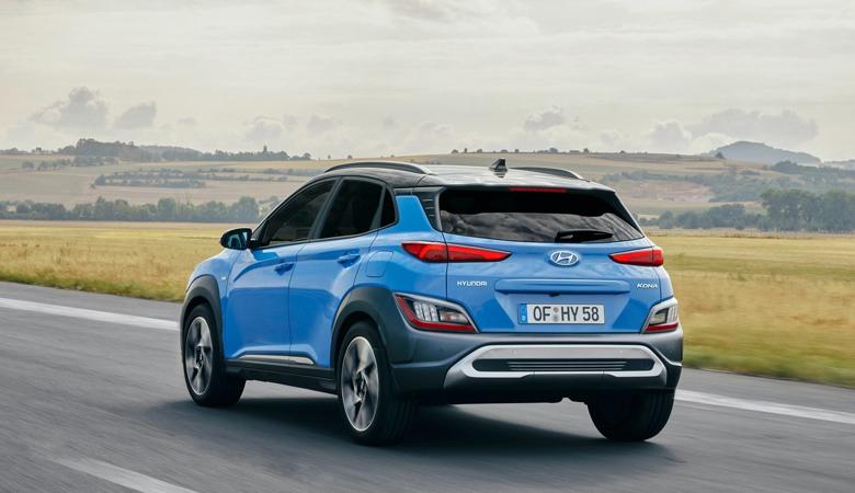Đuôi xe vô cùng trẻ trung của Hyundai Kona