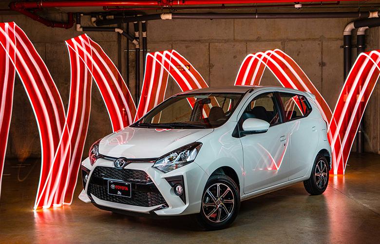 Toyota Wigo sở hữu ngoại hình bắt mắt
